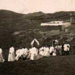 """Antica foto della """"processione di San Marco"""