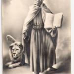 Figurina di san Marco fine ottocento