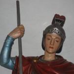 festa patronale Vigolo Vattaro Particolare statua S Giorgio